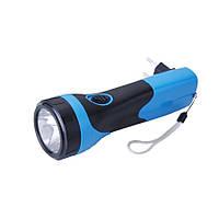 Переносной карманный светодиодный ручной фонарик YJ-209 с аккумуляторной батареей