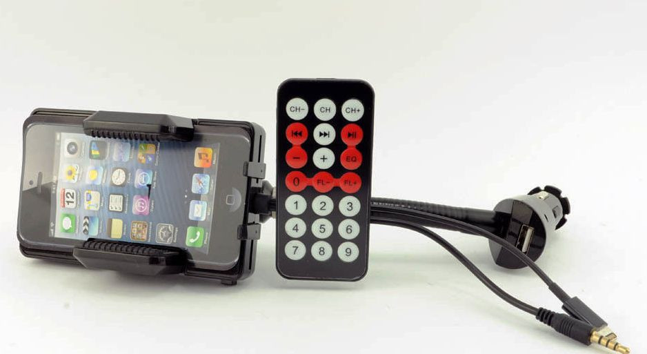 Подставка под Iphone 5 + прикуриватель
