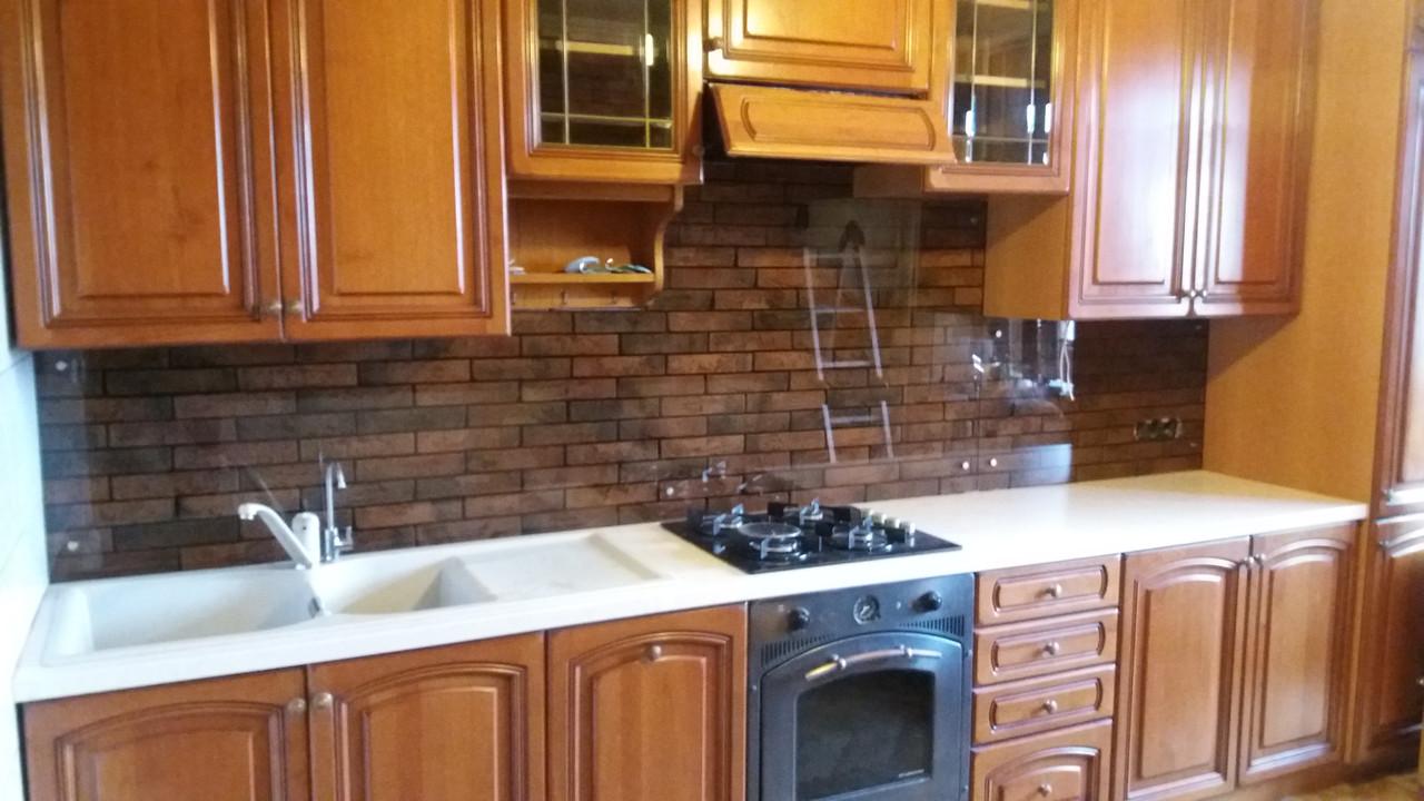 Кухонный фартук прозрачный купить — 13596269
