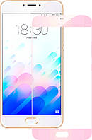 Защитное стекло TOTO 2.5D Full Cover Tempered Glass Meizu M3 Note (soft edges) Rose gold