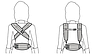 Эргономический Эрго рюкзак Ergobaby carrier ADAPT COOL AIR, фото 7
