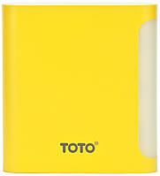 Портативная батарея TOTO TBG-47 Power Bank 10000 mAh 2USB 3,1A Li-Ion Yellow