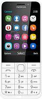 Мобильный телефон Nokia 230 Dual SIM Silver White