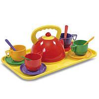 Набор посуды с подносом (14 пр.) 0286 Юника