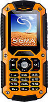 Мобильный телефон Sigma mobile X-treme IT67 Black/Orange