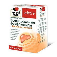 Доппельгерц актив Эссенциальные фосфолипиды витамины группы В -таблетки для улучшения работы печени(Квайссер)