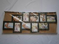 Рамка коллаж 705 черная 10 фото