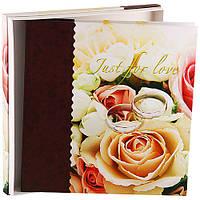 Фотоальбом Love 9840 20л. 32x33см. розы w/box