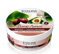 "Крем для тела ""Какао и масло авокадо"" Phyto Line Интенсивный уход Eveline Cosmetics"