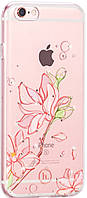 HOCO TPU case Super star series inner Diamond iPhone 6/6s Orchid tree