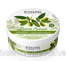 """Питательный крем для тела """"Оливки и протеины шелка"""" Eveline Cosmetics"""