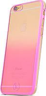 HOCO TPU cover Defender series Gradient iPhone 6/6s Pink