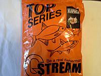 Прикормка рыболовная G.STREAM(СТРИМ) TOP SERIES Карась(чеснок)
