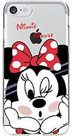 TOTO TPU case Disney iPhone 7 Minnie Mouse