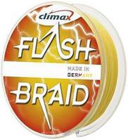 Шнур Climax Flash Braid 0.20 Yellow 100m.14.50kg