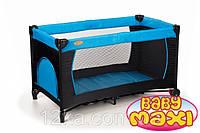 Манеж-кровать BABYmaxi BASIC Blue синий