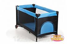 Манеж-кровать BABYmaxi BASIC Blue синий, фото 2