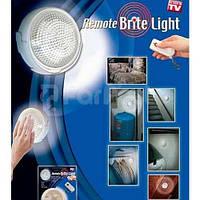 Настенный светильник Remote Brite Light с пультом автономное освещение