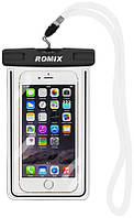 Romix RH11 Fluorescent Waterproof Bag with Touch Control max 5.5' Black