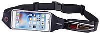 Romix RH16 Waist bag/Belt with touch screen window max 4.7' Black