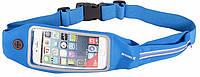 Romix RH16 Waist bag/Belt with touch screen window max 4.7' Blue
