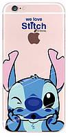 TOTO TPU case Disney iPhone 6/6s Stitch