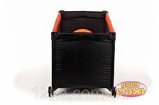 Манеж-кровать BABYmaxi BASIC Orange оранжевый, фото 3