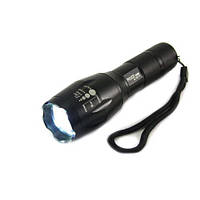 Фонарик BAILONG POLICE BL 1831 T6 158000W мощный подствольный фонарь