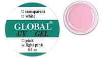 Гель Global (15 мл прозрачно-розовый)