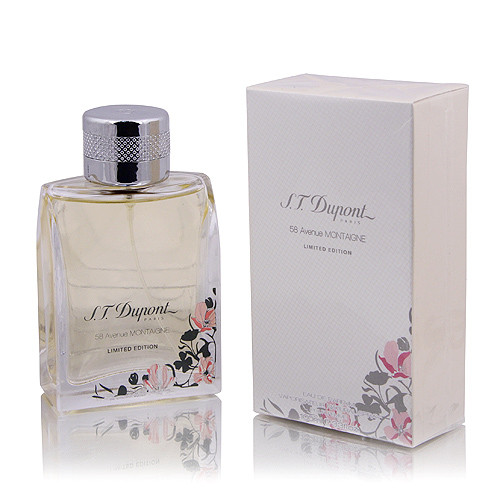 Dupont 58 Avenue Montaigne Limited Edition парфюмированная вода 100 ml. (Дюпонт 58 Авеню Монтань Лимитед Эдиш)