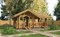 Беседки деревянные под заказ в сад