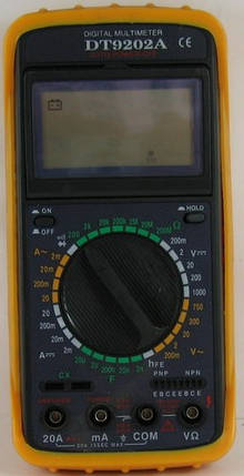 Мультиметр DT 9202, фото 2