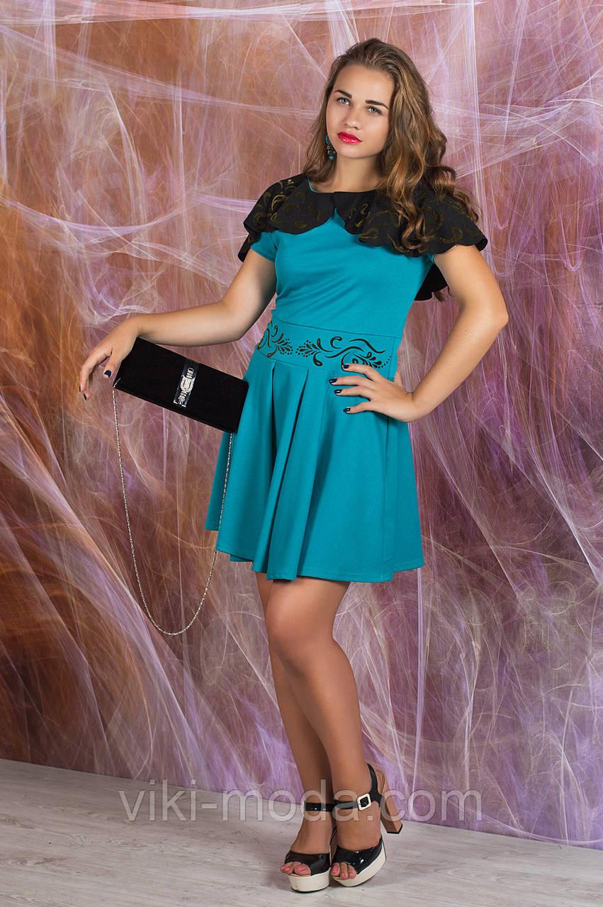Платье Мадонна (бирюзовый), фото 1