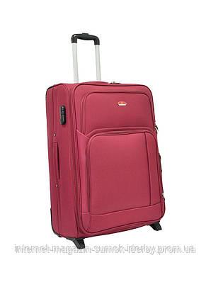 Чемодан Suitcase большой 11404-28 бордовый