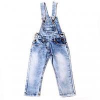 Полукомбинезон джинсовый, р-р 98-122