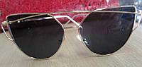 Очки солнцезащитные  коричневые от студии LadyStyle.Biz, фото 1