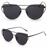 Очки солнцезащитные  черные  от студии LadyStyle.Biz, фото 1