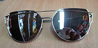 Очки солнцезащитные  серебристые от студии LadyStyle.Biz