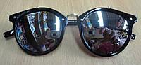 Очки солнцезащитные  классик  серебристые от студии LadyStyle.Biz, фото 1