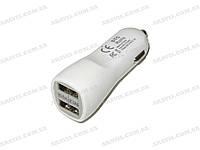 Зарядное /Адаптор двойной Mini USB 12/24V -> 5V 2100mA