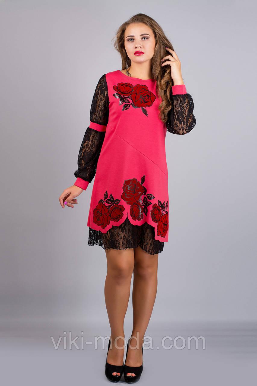 Платье Астра (коралл)