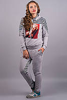 Спортивный костюм Монро (серый)