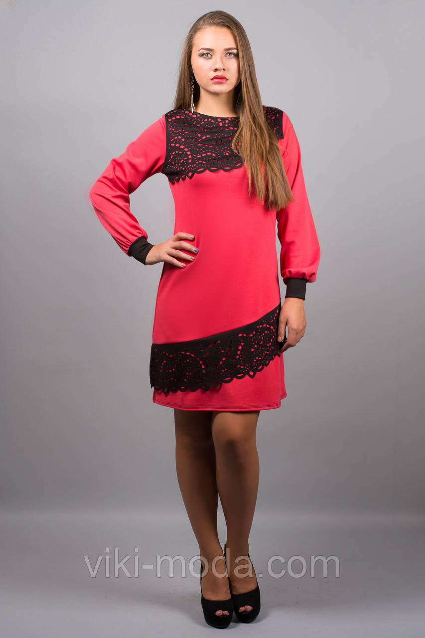 Платье Инди (коралл)