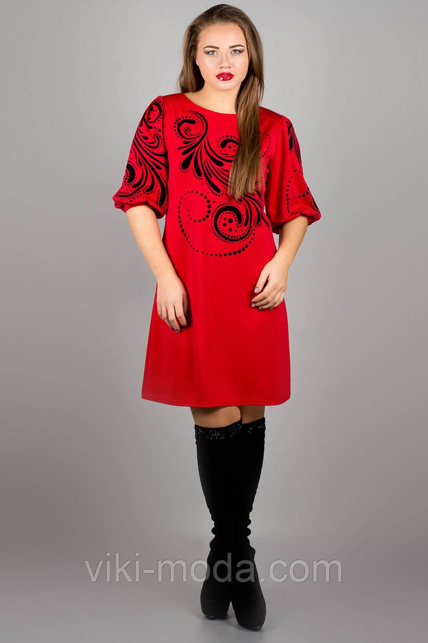 Платье Каролина (красный)