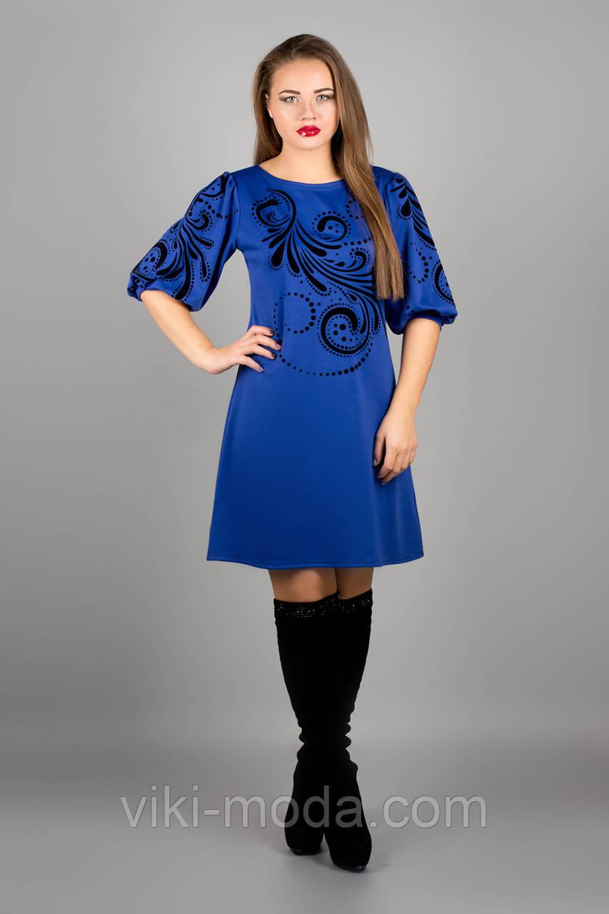 Платье Каролина (электрик)