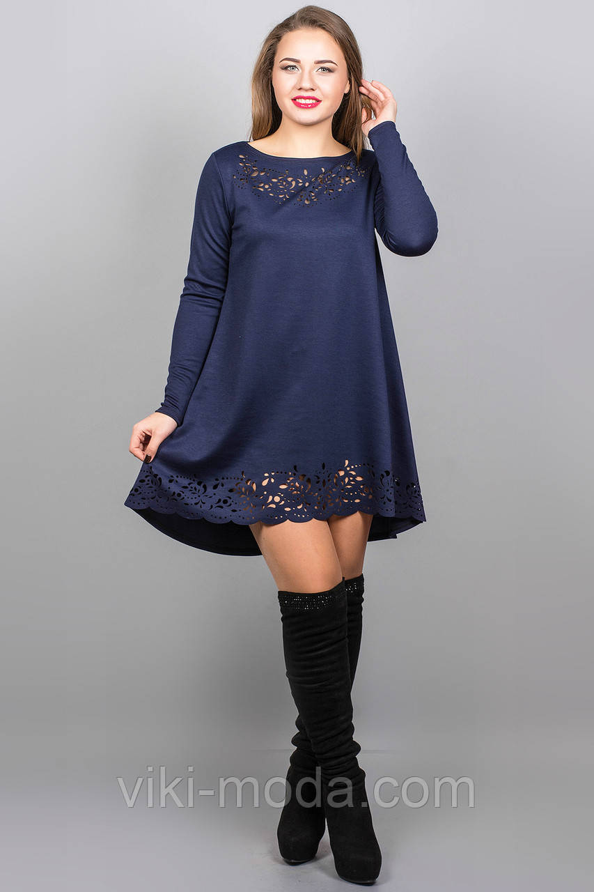 Платье Лучия (синий)
