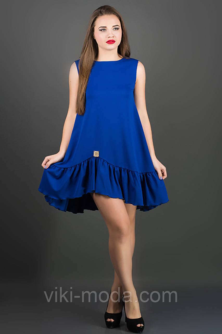 Платье Роми (электрик)