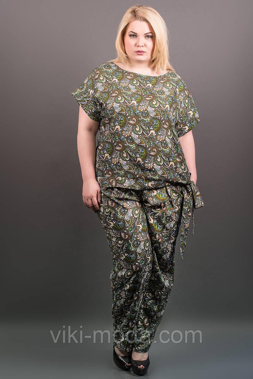 Костюм Алма (зеленый ажур)