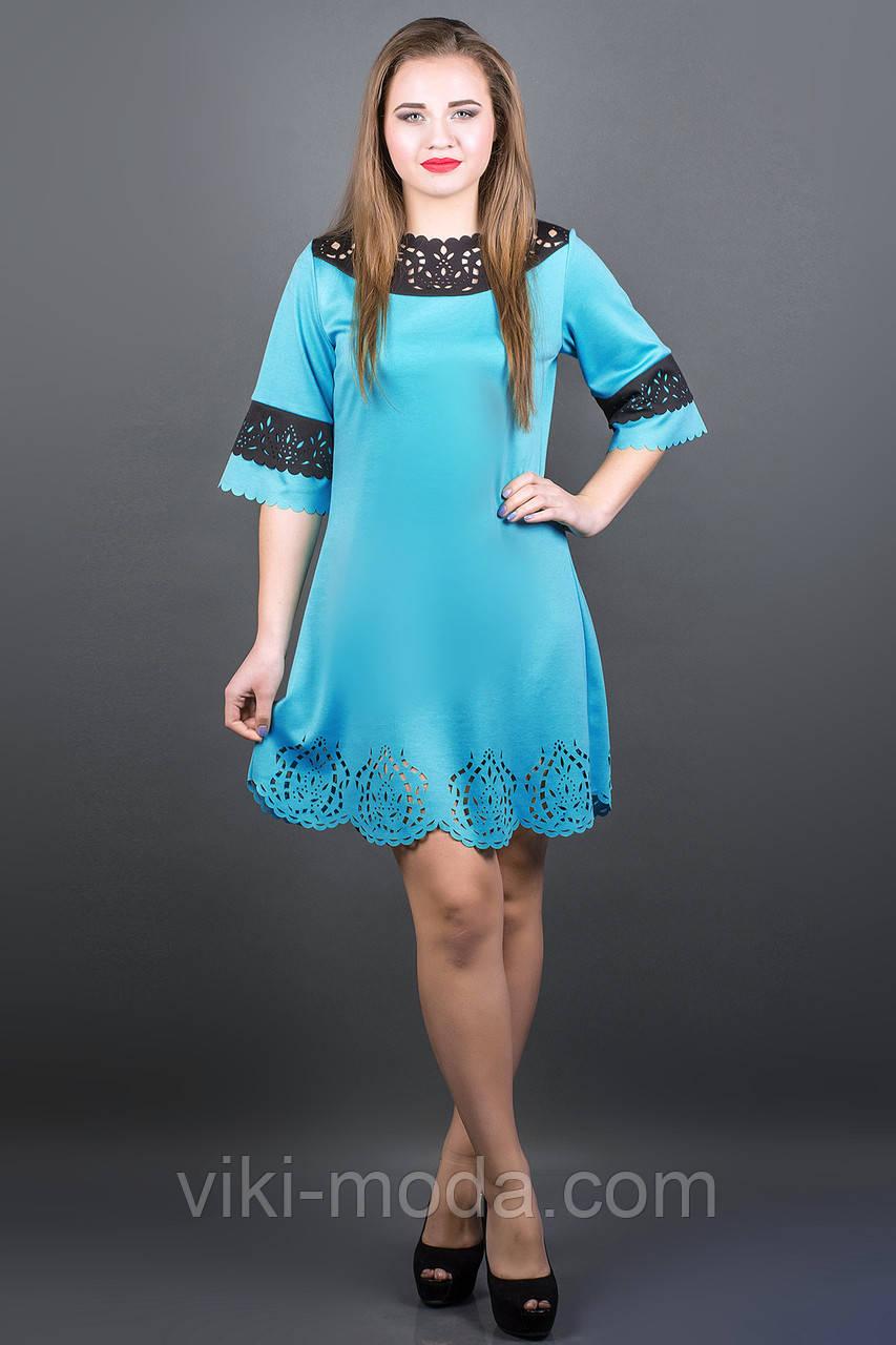 Платье Джаконда (бирюза)