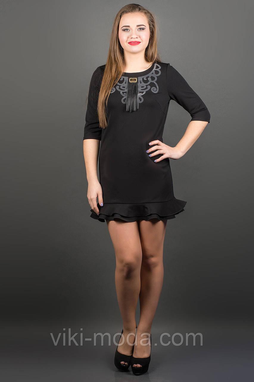 Платье Кураж (черный), фото 1
